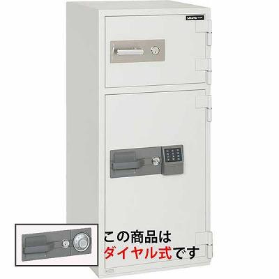 サガワ PC120N 耐火投入金庫 ダイヤル式