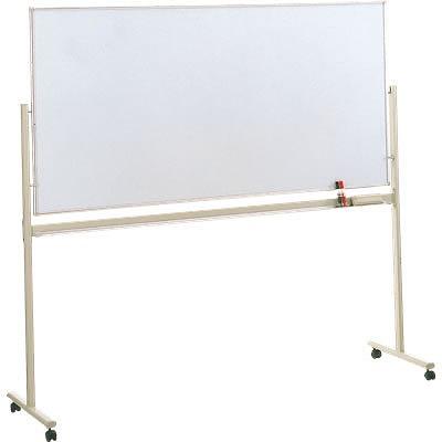 脚付きホワイトボード スチール 片面固定 幅1802mm