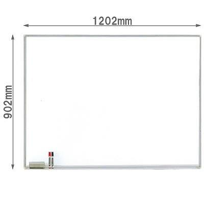 壁掛けホワイトボード スチール 幅1202mm