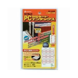 ニチバン PC-233R マイタックPCラミネートインデックス 赤枠