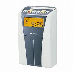 アマノ CRX-200 電子タイムレコーダー シルバー