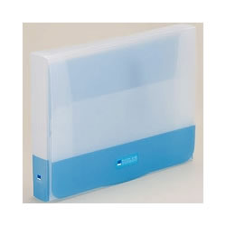 LIHIT G5900-8 PPクラッチケース A4 ブルー