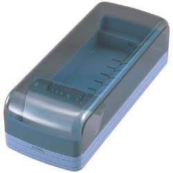 カール NO.870E-B 名刺整理箱ブルー