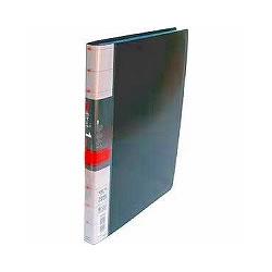 コレクト S-841-BK 透明ポケットファイル