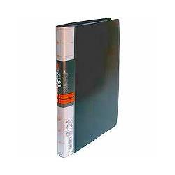 コレクト S-8422-BK 透明ポケットファイル