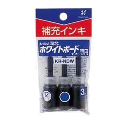 シャチハタ KR-NDWアオ ホワイトボードマーカー用インキ