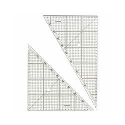 ステッドラー 966 30 方眼三角定規