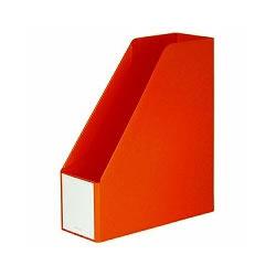 セキセイ AD-2650-51 ボックスファイル A4 オレンジ