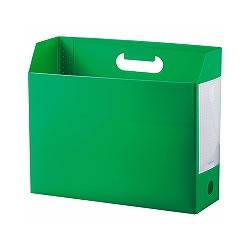セキセイ AD-2651-30 ボックスファイル A4 グリーン