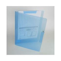 セキセイ MV-505W-10 クリップインファイル A4 ブルー