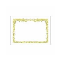 タカ印 10-1050 B5 賞状用紙 白地 縦書き用 10枚入り