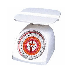 タニタ 1403 ホワイト レタースケール
