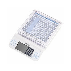 タニタ KD-194L-WH デジタルレタースケール
