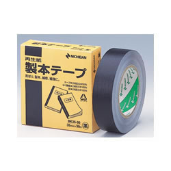 ニチバン BK35-306 製本テープ 35mm×30m 黒