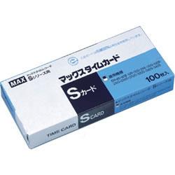 マックス ER90060 タイムレコーダー用ER-Sカード ブルー