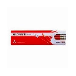三菱鉛筆 K2451 消せる赤鉛筆