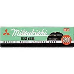 三菱鉛筆 K9800H 鉛筆 H
