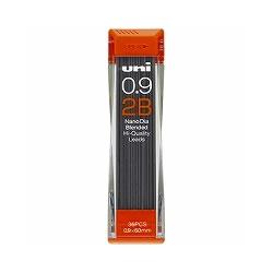 三菱鉛筆 U09202ND2B ユニ芯0.9-202 2B