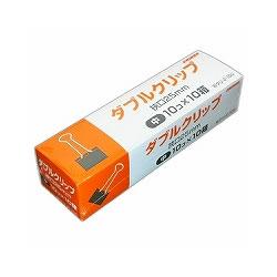 日本クリノス Wクリ-2-100 ダブルクリップ徳用 中