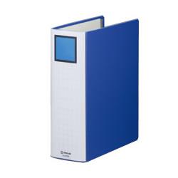 KINGJIM 2478AB キングファイルスーパードッチ <脱・着>イージー A4タテ型 とじ厚80mm 青