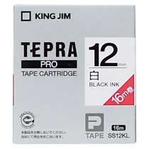 KINGJIM SS12KL PROテープカートリッジ 12mm×16m