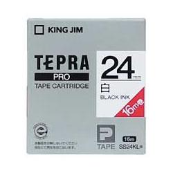 KINGJIM SS24KL PROテープカートリッジ 24mm×16m