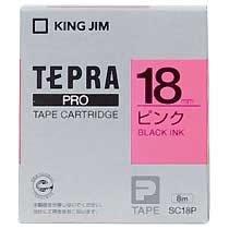 KINGJIM SC18P テプラ PROテープカートリッジ カラーラベル「パステル」