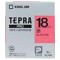 KINGJIM SC18R テプラ PROテープカートリッジ カラーラベル「パステル」