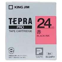 KINGJIM SC24R テプラ PROテープカートリッジ カラーラベル「パステル」