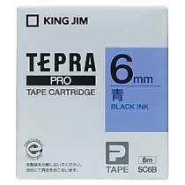 KINGJIM SC6B テプラ PROテープカートリッジ カラーラベル「パステル」
