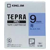 KINGJIM SC9B テプラ PROテープカートリッジ カラーラベル「パステル」