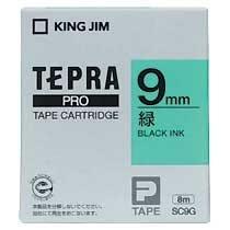 KINGJIM SC9G テプラ PROテープカートリッジ カラーラベル「パステル」