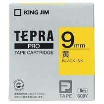 KINGJIM SC9Y テプラ PROテープカートリッジ カラーラベル「パステル」
