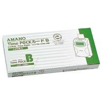 アマノ タイムパツクカ-ドB タイムパック専用タイムカードB (20日締め/5日締め)