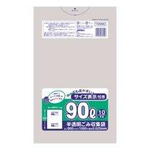 ジャパックス TSN90 容量表示入りポリ袋 90L 10枚入×30パック