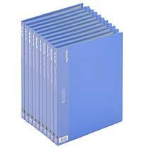 ビュートン BCB-A4-20B クリヤーブック A4タテ 20ポケット ブルー 10冊