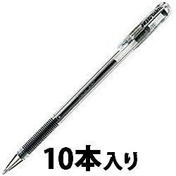 ペンテル EK105-GA ゲルインキボールペン ハイブリッド 0.5mm 黒 1箱=10本