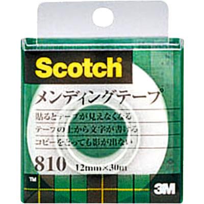 3M 810-1-12C メンディングテープ 小巻 幅12mm