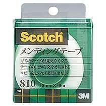 3M 810-1-18C メンディングテープ 小巻 幅18mm