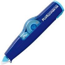 PLUS WH-635ブル- 修正テープ ホワイパーミニローラー 本体 5mm幅×6m ブルー