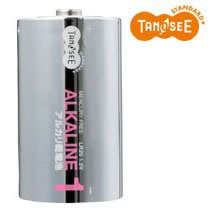 LR20/1.5V(2P/T) 単1形アルカリ乾電池 汎用品