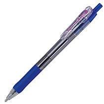 ゼブラ BNU5-BL ノック式油性ボールペン タプリクリップ 1.6mm 青