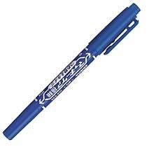 ゼブラ YYTS5-BL 油性ツインマーカー マッキーケア 極細 青