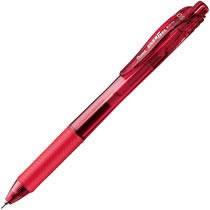 ペンテル BLN105-B ゲルインクボールペン エナージェル・エックス 0.5mm 赤