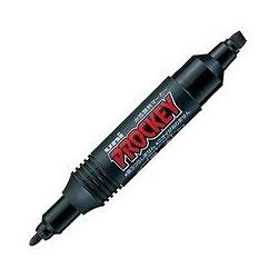 三菱鉛筆 PM150TR.24 水性ツインサインペン プロッキー 詰替えタイプ 黒