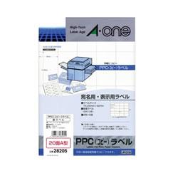 エーワン 28205 PPCラベル A型
