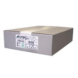 エーワン 28645 レーザープリンタラベル A4判21面