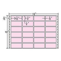 ナナ M15FP 連続ラベル カラーシリーズ ピンク
