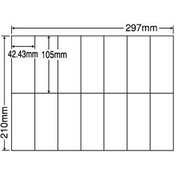 ナナ C14Q シートカットラベル(マルチタイプ)