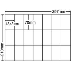 ナナ C21Q シートカットラベル(マルチタイプ)